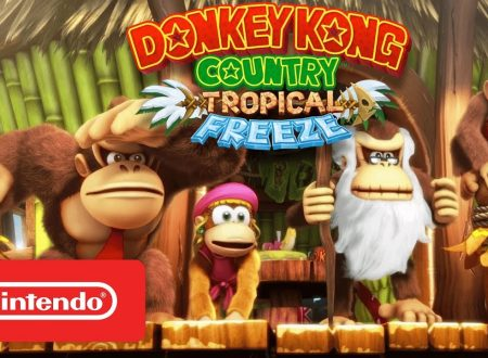 Donkey Kong Country: Tropical Freeze, pubblicato un gameplay trailer sul titolo
