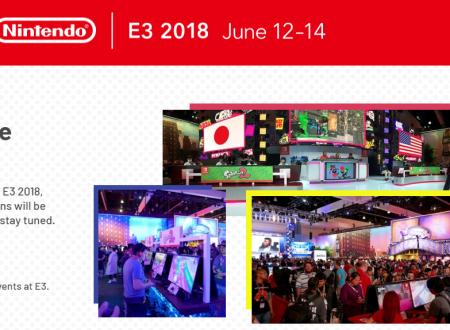 E3 2018: Nintendo sarà presente all'evento dal 12 al 14 giugno con tornei e presentazione video sui nuovi titoli in uscita