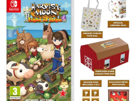 Harvest Moon: Light of Hope Collectors Edition ora il preorder sul Nintendo UK Store