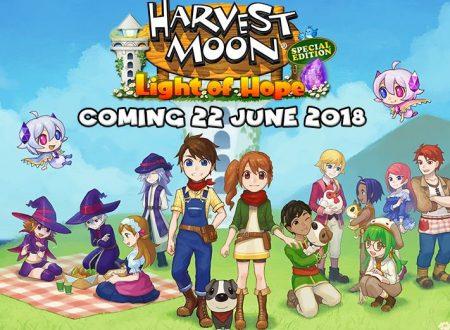 Harvest Moon: Light of Hope, il titolo è in arrivo il 22 giugno con la Special Edition