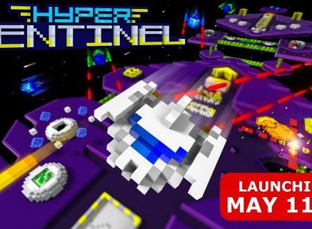 Hyper Sentinel: il titolo è in arrivo l'11 maggio sull'eShop europeo di Nintendo Switch