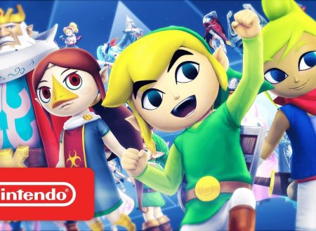 Hyrule Warriors: Definitive Edition, mostrato il trailer inglese sui personaggi da The Legend of Zelda: The Wind Waker