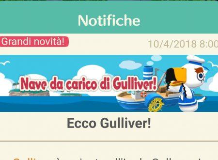 Animal Crossing: Pocket Camp, Gulliver è da ora disponibile all'interno del titolo