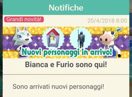 Animal Crossing: Pocket Camp, ora disponibili nuovi animali: Bianca, Furio, Morena, Julia, Attilio e Fanny
