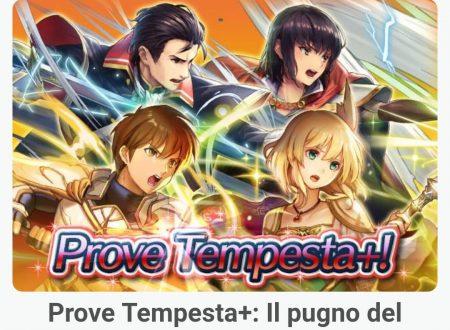 Fire Emblem Heroes: le Prove Tempesta+, il pugno di tuono, ora disponibili nel titolo