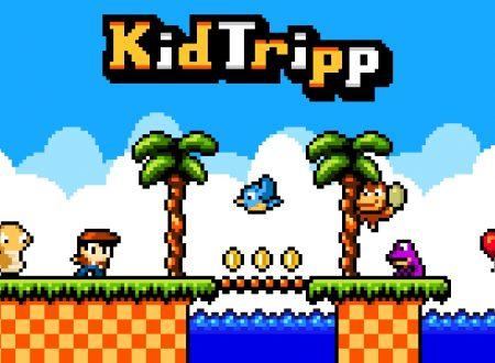 Kid Tripp: il titolo ora aggiornato alla versione 1.2 sui Nintendo Switch europei
