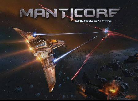 Manticore – Galaxy on Fire, il titolo ora in arrivo il 19 aprile sui Nintendo Switch europei