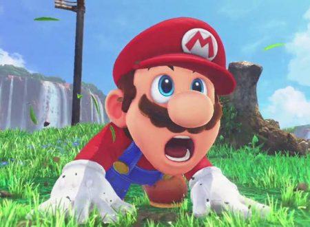 Manutenzione straordinaria per i servizi online di Super Mario Odyssey