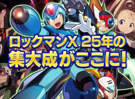 Mega Man X Legacy Collection 1 e 2: i due titoli in arrivo il 26 luglio sui Nintendo Switch giapponesi