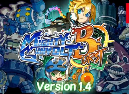 Mighty Gunvolt Burst: svelato il changelog della versione 1.4 del titolo
