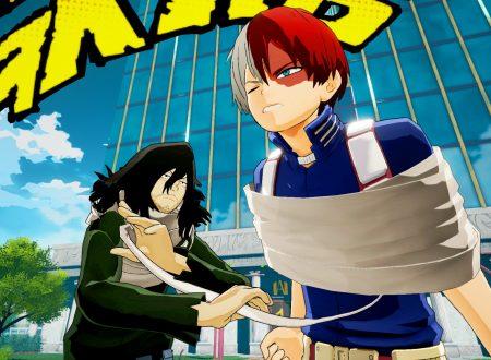 My Hero Academia: One's Justice, mostrati i primi screenshots di Shota Aizawa e Stain nel titolo