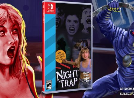 Night Trap – 25th Anniversary Edition, il classico titolo per SEGA Mega CD è in arrivo in estate su Nintendo Switch
