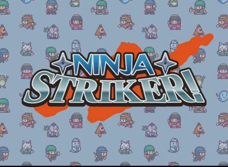 Ninja Striker!: il titolo è in arrivo il 19 aprile sull'eShop europeo di Nintendo Switch