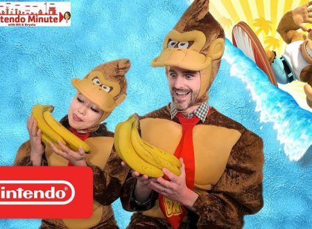 Nintendo Minute: una Speed Run con Funky Kong in video su Donkey Kong Country: Tropical Freeze