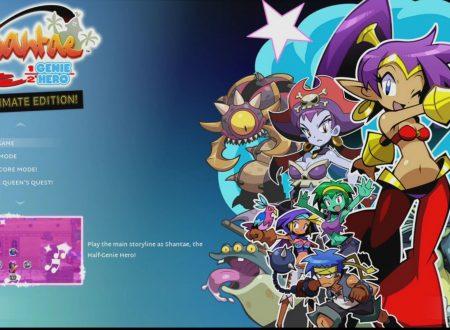 Nintendo Switch: svelati i filesize di Shantae: Half Genie Hero – Ultimate Edition,Super Saurio Fly,Nihilumbrae gli altri indie in uscita imminente sul Nintendo eShop