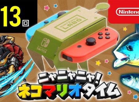 Nyannyan Neko Mario Time: pubblicato l'episodio 113 dello show felino con Mario e Peach
