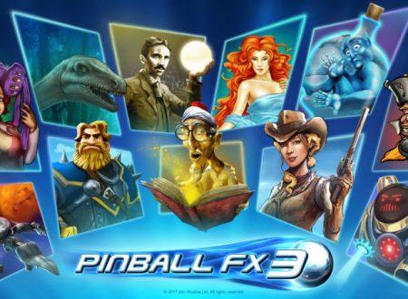Pinball FX3: la versione 1.0.2 è ora disponibile sui Nintendo Switch europei
