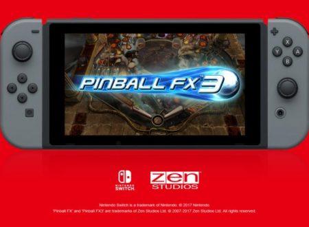 Pinball FX3: un corposo update è in arrivo il 3 maggio sui Nintendo Switch europei