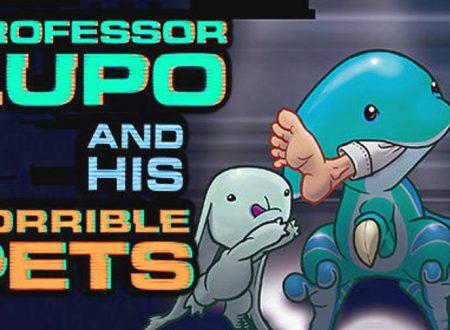 Professor Lupo and his Horrible Pets: il titolo è in arrivo in estate sull'eShop di Nintendo Switch