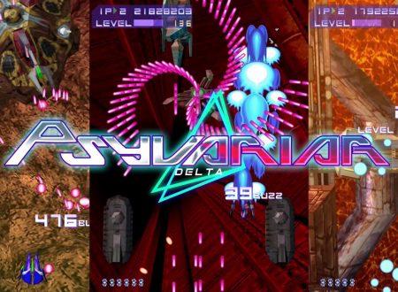 Psyvariar Delta: il titolo è in arrivo in estate sui Nintendo Switch europei