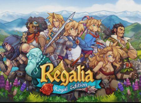 Regalia – Of Men and Monarchs, il titolo ora aggiornato alla versione 1.01 sui Nintendo Switch europei