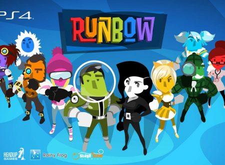 Runbow: posticipata l'uscita del titolo di qualche settimana su Nintendo Switch