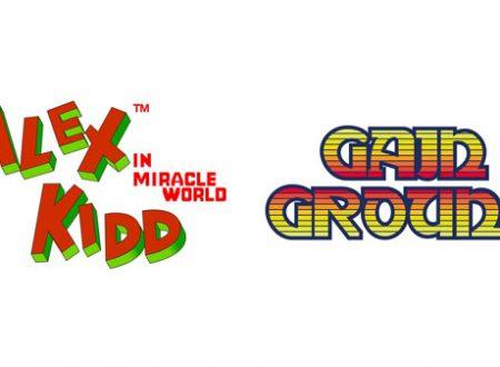 SEGA Ages: Alex Kidd in Miracle World e Gain Ground si uniscono alla lista di giochi disponibili