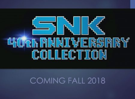 SNK 40th Anniversary Collection annunciata per l'arrivo su Nintendo Switch in Autunno