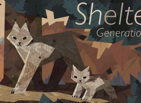 Shelter Generations: il titolo sarà disponibile il 12 aprile sull'eShop di Nintendo Switch
