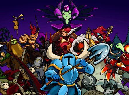 Shovel Knight: il titolo ha piazzato 2 milioni di copie complessive, 370,000 solo su Nintendo Switch
