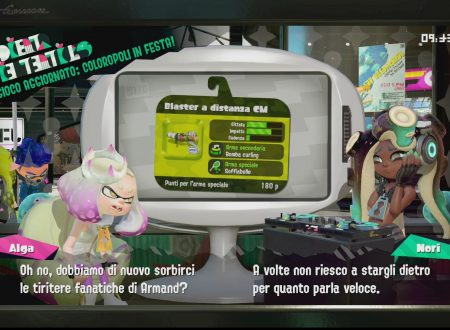 Splatoon 2: uno sguardo in video al Blaster a distanza CM, arma ora disponibile nel titolo