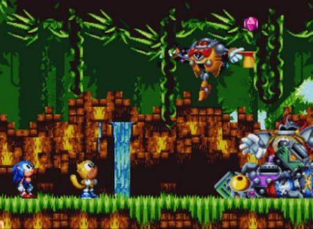 Sonic Mania Plus: il titolo è in arrivo il 19 luglio sui Nintendo Switch giapponesi