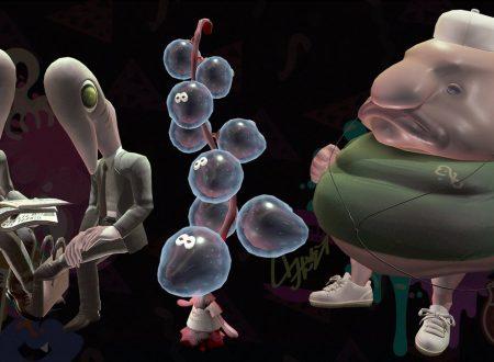 Splatoon 2: mostrati alcuni degli abitanti sotteranei del mare profondo dell'Octo Espansion