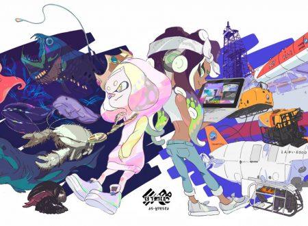 Splatoon 2: pubblicato l'artwork ufficiale dello Splatfest giapponese, Animali non scoperti o tecnologia futuristica?
