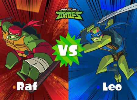 Splatoon 2: svelato il nuovo Splatfest europeo ed americano, Teenage Mutant Ninja Turtles: Raf o Leo?
