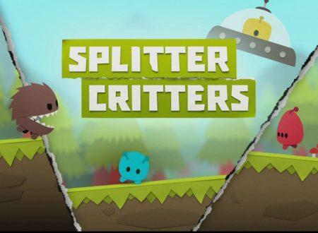 Splitter Critters: il titolo è in arrivo il 15 maggio sull'eShop europeo di Nintendo Switch