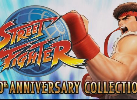 Street Fighter 30th Anniversary Collection: il titolo è ora in pre-download sui Nintendo Switch europei