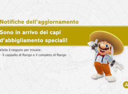 Super Mario Odyssey: il cappello e il completo di Rango sono ora disponibili nel titolo