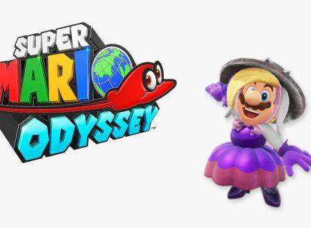 Super Mario Odyssey: leakati alcuni dei nuovi costumi di Mario presto inseriti nel titolo