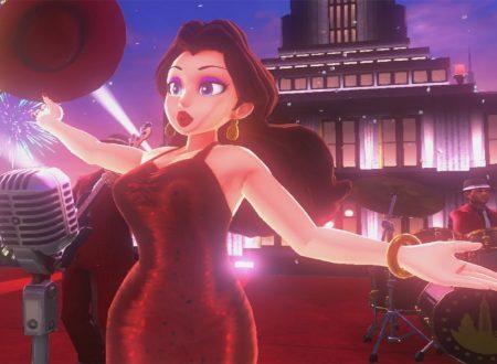 Super Mario Odyssey: mostrati dei concept art di Pauline dalla soundtrack originale del titolo