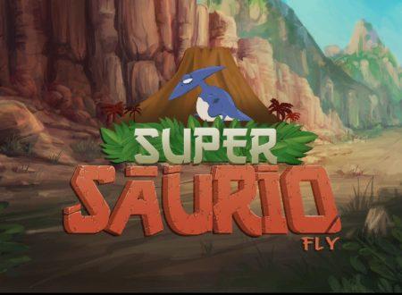 Super Saurio Fly: il titolo è in arrivo il 28 aprile sui Nintendo Switch europei