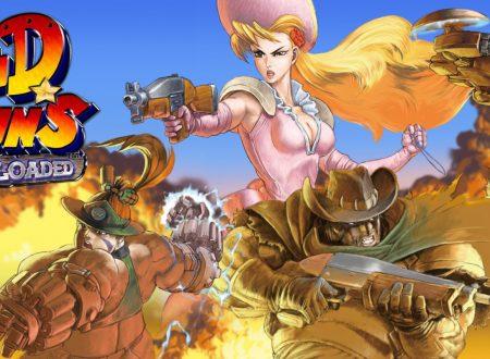 Wild Guns Reloaded: pubblicato il trailer di lancio del titolo su Nintendo Switch