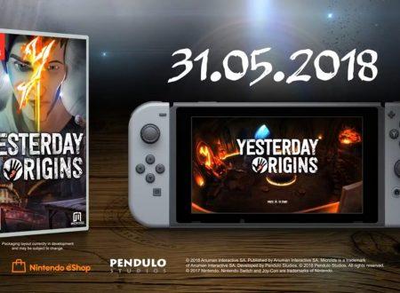 Yesterday Origins: il titolo è in arrivo il 31 maggio sui Nintendo Switch europei