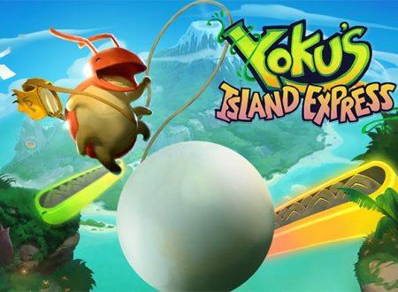 Yoku's Island Express: il titolo è in arrivo il 29 maggio sull'eShop europeo di Nintendo Switch