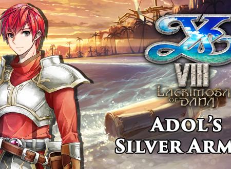 Ys VIII: Lacrimosa of DANA, il costume Silver Armor di Adol sarà presente nel titolo