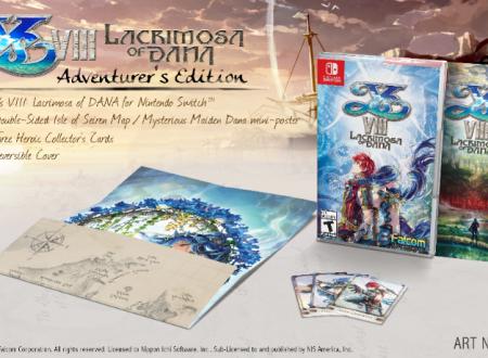 Ys VIII: Lacrimosa of DANA, rivelati i contenuti bonus presenti nella versione per Nintendo Switch