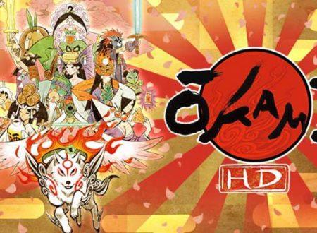 Ōkami HD: il titolo è in arrivo il 9 agosto sui Nintendo Switch giapponesi