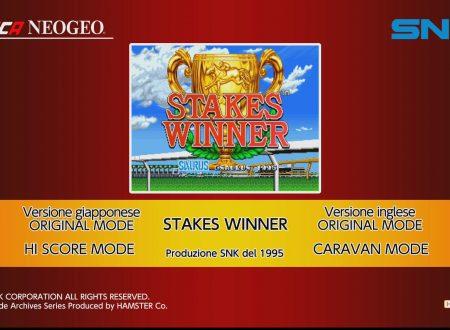 ACA NEOGEO STAKES WINNER: uno sguardo in video al titolo dai Nintendo Switch europei