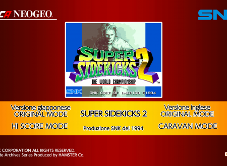 ACA NEOGEO SUPER SIDEKICKS 2: uno sguardo in video al titolo dai Nintendo Switch europei