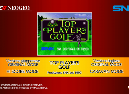 ACA NEOGEO Top Players Golf: uno sguardo in video al titolo dai Nintendo Switch europei